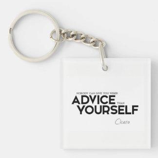 Llavero CITAS: Cicero: Consejo usted mismo