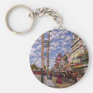 Llavero Ciudad - New Orleans la era 1887 del Victorian