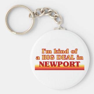 Llavero Clase de I´m de una gran cosa en Newport