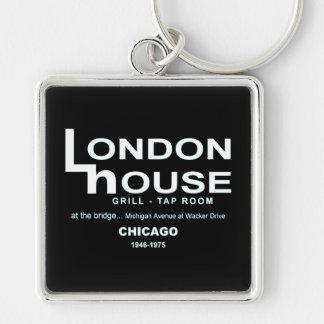 Llavero Club del restaurante de la casa de Londres,
