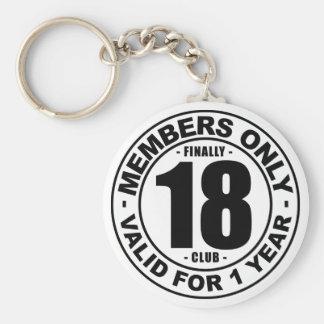 Llavero Club finalmente 18
