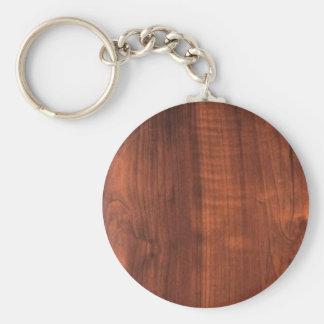 Llavero Colección de madera de la mirada del final de la