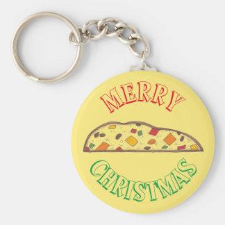 Llavero Comida italiana de Navidad de Biscotti del día de