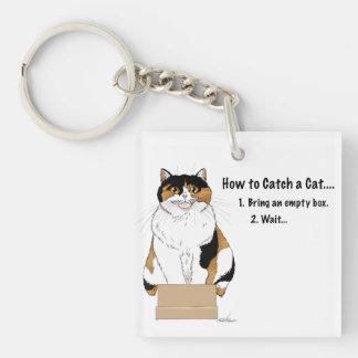 Llavero Cómo coger un gato