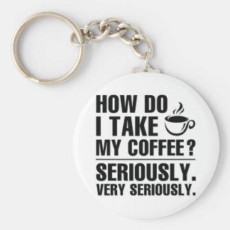 Llavero Cómo I toma mi café