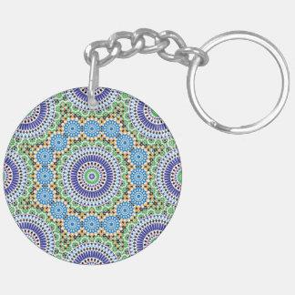 Llavero con el mosaico (de doble cara)