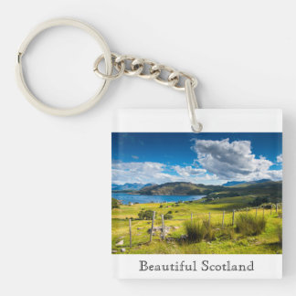 Llavero con una fotografía de Escocia hermosa