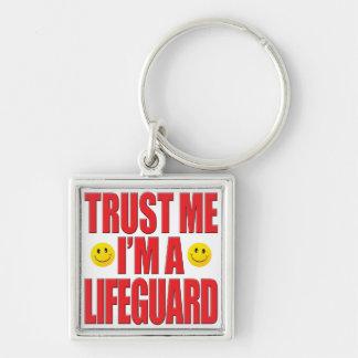 Llavero Confíeme en vida del salvavidas