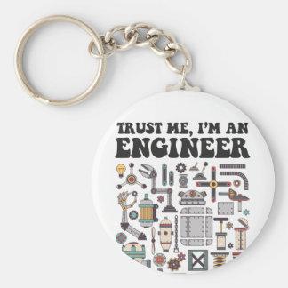 Llavero Confíeme en, yo son un ingeniero