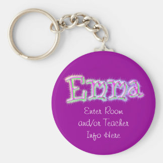 Llavero conocido de la etiqueta de Emma
