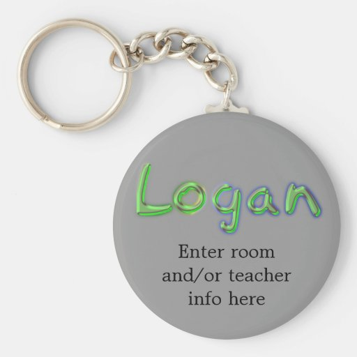 Llavero conocido de la etiqueta de Logan