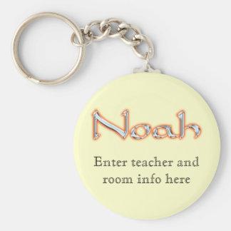 Llavero conocido de la etiqueta de Noah