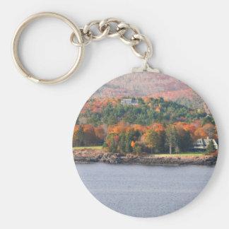 Llavero costero de Maine