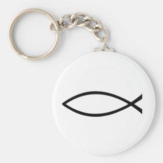 Llavero cristiano de los pescados