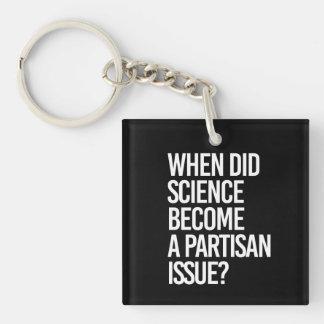 Llavero Cuando hizo ciencia se convierte un parcial