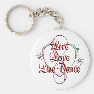 Llavero Cuerpo de baile vivo del amor