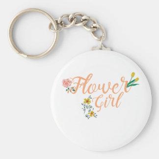 Llavero Dama de honor linda del florista