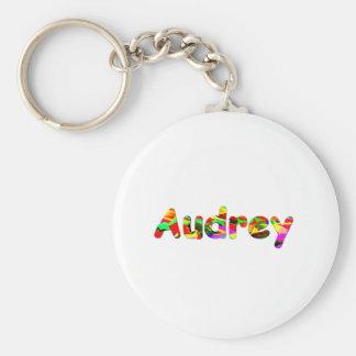 Llavero de Audrey