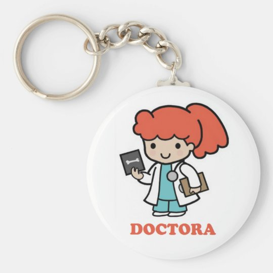Llavero de doctora