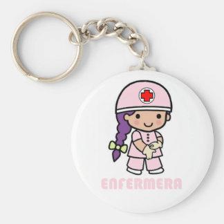 Llavero de enfermera