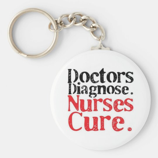 Llavero de enfermeras curan