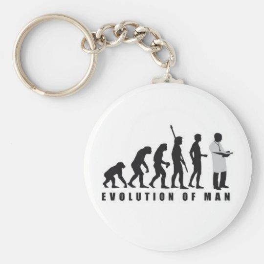 Llavero de evolucion del hombre a doctor