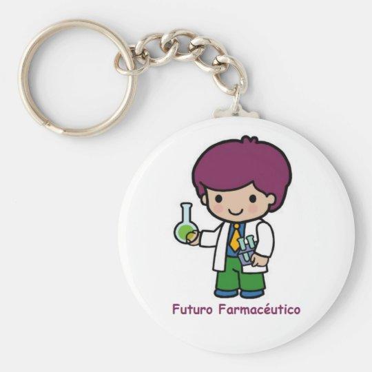 Llavero de futuro farmaceutico
