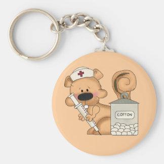 Llavero de la ardilla de la enfermera