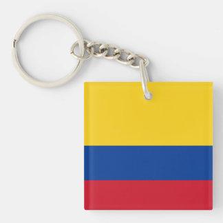 Llavero de la bandera de Colombia
