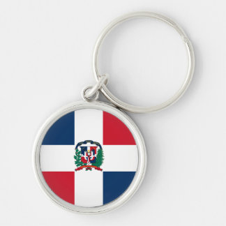 Llavero de la bandera de la República Dominicana