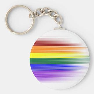 Llavero de la bandera del arco iris (clásico)