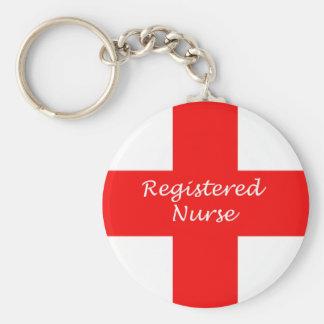 Llavero de la enfermera registradoa