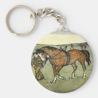 Llavero de la escuela del caballo
