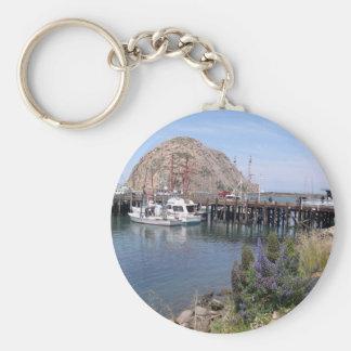 Llavero de la foto de la bahía de Morro