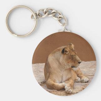 Llavero de la leona