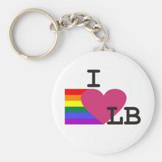 Llavero de la libra del amor del gay I