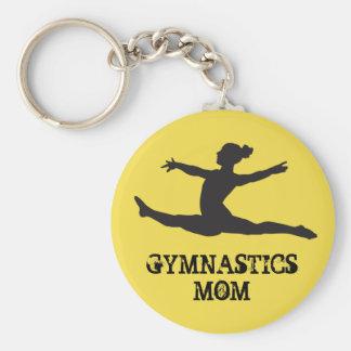 Llavero de la mamá de la gimnasia