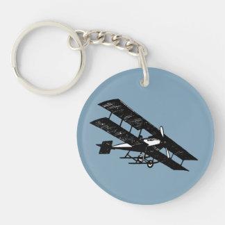 Llavero de la máquina de vuelo de los aviones del
