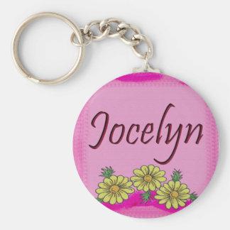 Llavero de la margarita de Jocelyn