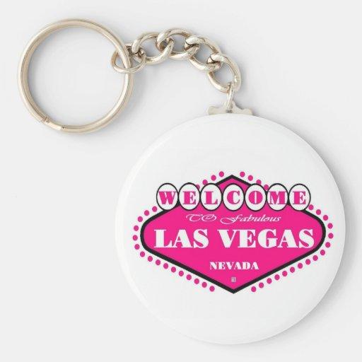 Llavero de la muestra de Las Vegas de las ROSAS FU