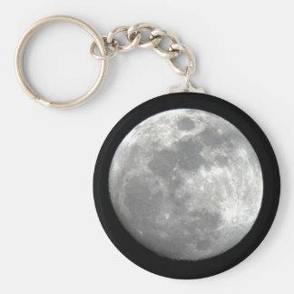 Llavero de la opinión de la luna