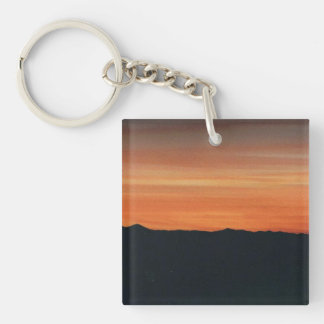 Llavero de la puesta del sol
