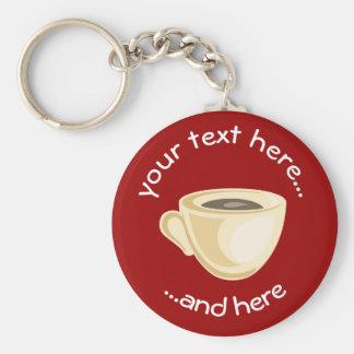 Llavero de la taza de café