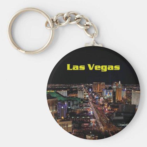 Llavero de la tira de Las Vegas
