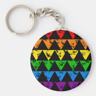 Llavero de los triángulos del arco iris