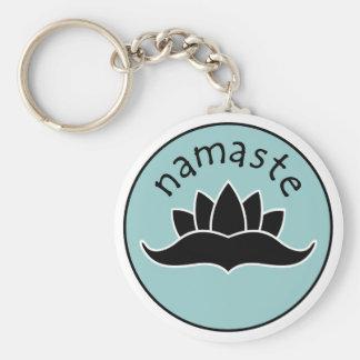 Llavero de Lotus Namaste