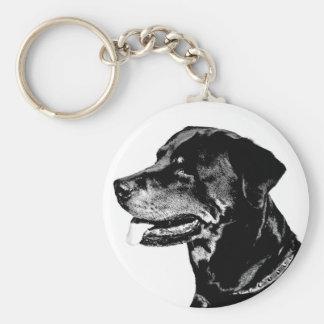 Llavero de Rottweiler