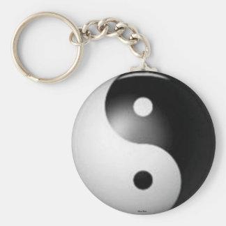Llavero de Yin y de Yang