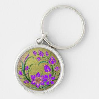 Llavero decorativo de las plantas y de las flores