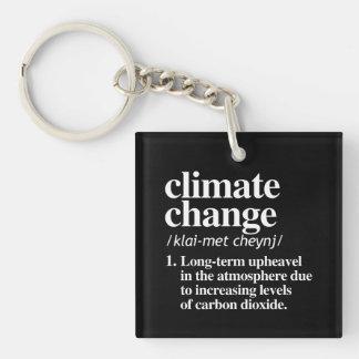 Llavero Definición del cambio de clima - agitación a largo